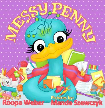 Messy Penny by Roopa Weber