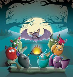 Spooky Bats Campfire