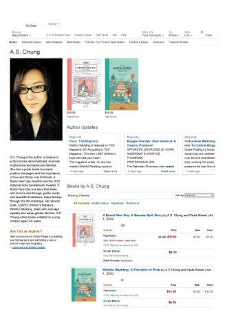 A.S. Chung Amazon Author Page